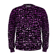Purple Denim Background Pattern Men s Sweatshirt