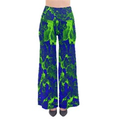 Abstract Green And Blue Background Pants