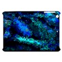 Underwater Abstract Seamless Pattern Of Blues And Elongated Shapes Apple iPad Mini Hardshell Case View1