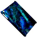 Underwater Abstract Seamless Pattern Of Blues And Elongated Shapes Apple iPad Mini Hardshell Case View5