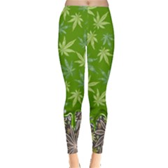 Cannabis Marijuana Leggings