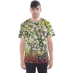 Chaos Background Other Abstract And Chaotic Patterns Men s Sport Mesh Tee