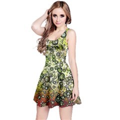 Chaos Background Other Abstract And Chaotic Patterns Reversible Sleeveless Dress