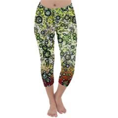 Chaos Background Other Abstract And Chaotic Patterns Capri Winter Leggings