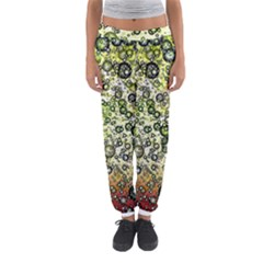 Chaos Background Other Abstract And Chaotic Patterns Women s Jogger Sweatpants