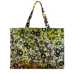 Chaos Background Other Abstract And Chaotic Patterns Zipper Mini Tote Bag