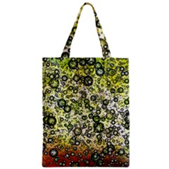 Chaos Background Other Abstract And Chaotic Patterns Zipper Classic Tote Bag