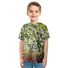Chaos Background Other Abstract And Chaotic Patterns Kids  Sport Mesh Tee