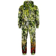 Chaos Background Other Abstract And Chaotic Patterns Hooded Jumpsuit (Men)