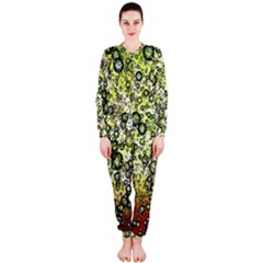 Chaos Background Other Abstract And Chaotic Patterns OnePiece Jumpsuit (Ladies)