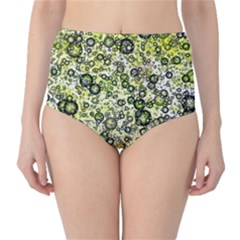 Chaos Background Other Abstract And Chaotic Patterns High-Waist Bikini Bottoms