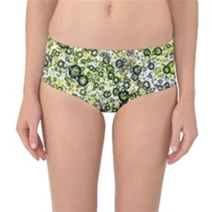 Chaos Background Other Abstract And Chaotic Patterns Mid Waist Bikini Bottoms