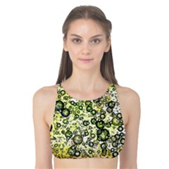 Chaos Background Other Abstract And Chaotic Patterns Tank Bikini Top