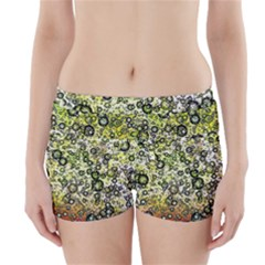 Chaos Background Other Abstract And Chaotic Patterns Boyleg Bikini Wrap Bottoms