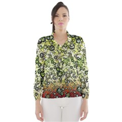 Chaos Background Other Abstract And Chaotic Patterns Wind Breaker (women)