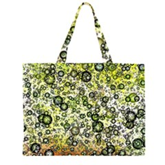 Chaos Background Other Abstract And Chaotic Patterns Large Tote Bag