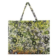 Chaos Background Other Abstract And Chaotic Patterns Zipper Large Tote Bag