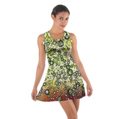 Chaos Background Other Abstract And Chaotic Patterns Cotton Racerback Dress