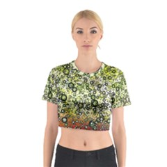 Chaos Background Other Abstract And Chaotic Patterns Cotton Crop Top