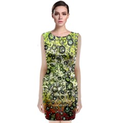Chaos Background Other Abstract And Chaotic Patterns Classic Sleeveless Midi Dress