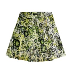 Chaos Background Other Abstract And Chaotic Patterns Mini Flare Skirt