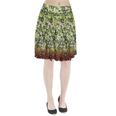 Chaos Background Other Abstract And Chaotic Patterns Pleated Skirt