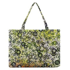 Chaos Background Other Abstract And Chaotic Patterns Medium Zipper Tote Bag