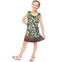 Chaos Background Other Abstract And Chaotic Patterns Kids  Tunic Dress