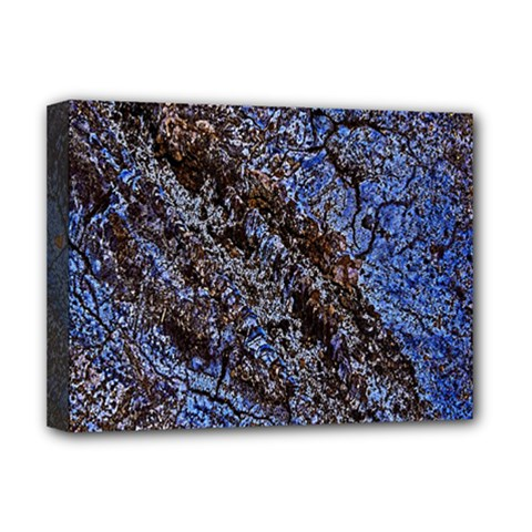 Cracked Mud And Sand Abstract Deluxe Canvas 16  x 12