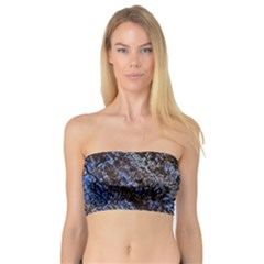 Cracked Mud And Sand Abstract Bandeau Top