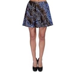 Cracked Mud And Sand Abstract Skater Skirt