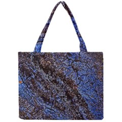 Cracked Mud And Sand Abstract Mini Tote Bag