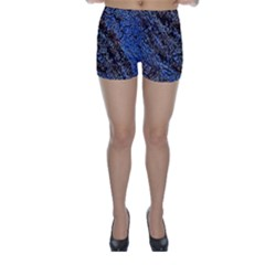 Cracked Mud And Sand Abstract Skinny Shorts