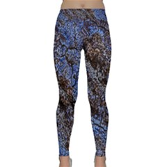 Cracked Mud And Sand Abstract Classic Yoga Leggings