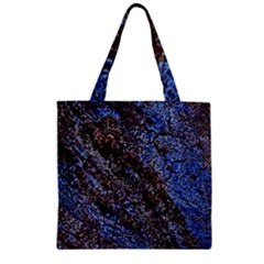 Cracked Mud And Sand Abstract Zipper Grocery Tote Bag