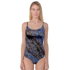 Cracked Mud And Sand Abstract Camisole Leotard