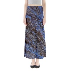 Cracked Mud And Sand Abstract Maxi Skirts
