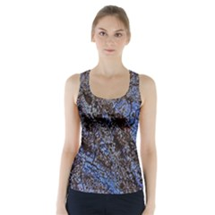 Cracked Mud And Sand Abstract Racer Back Sports Top