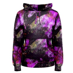 Pink Abstract Tree Women s Pullover Hoodie