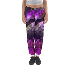 Pink Abstract Tree Women s Jogger Sweatpants