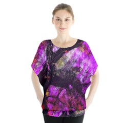 Pink Abstract Tree Blouse