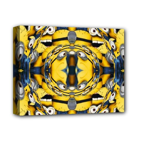 Minions FEEDBACK 3D EFFECT   Deluxe Canvas 14  x 11