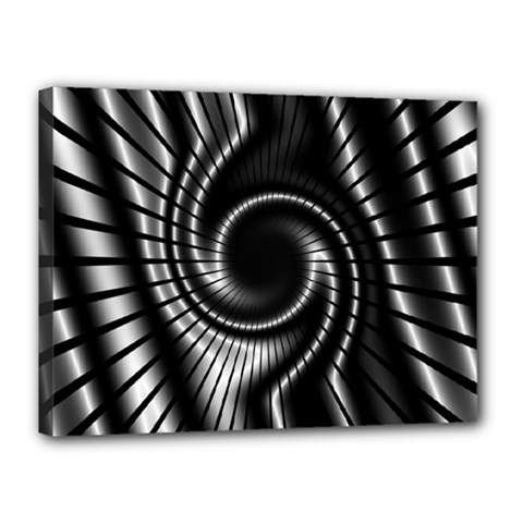 Abstract Background Resembling To Metal Grid Canvas 16  X 12