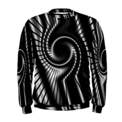 Abstract Background Resembling To Metal Grid Men s Sweatshirt