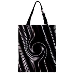 Abstract Background Resembling To Metal Grid Zipper Classic Tote Bag