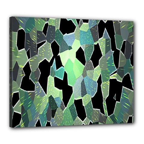 Wallpaper Background With Lighted Pattern Canvas 24  x 20