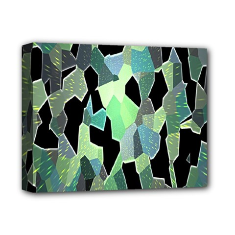 Wallpaper Background With Lighted Pattern Deluxe Canvas 14  x 11