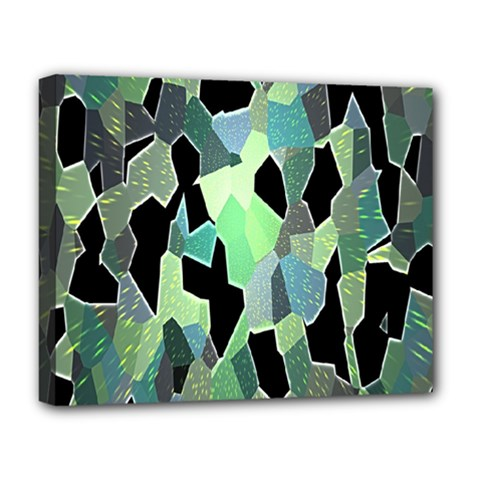 Wallpaper Background With Lighted Pattern Deluxe Canvas 20  x 16