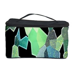 Wallpaper Background With Lighted Pattern Cosmetic Storage Case