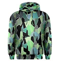 Wallpaper Background With Lighted Pattern Men s Pullover Hoodie